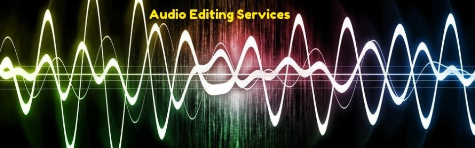 Audio Editing Services Banner